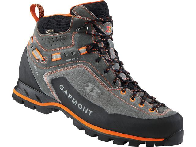 Garmont Vetta GTX Mid Cut Shoes Men, dark grey/orange